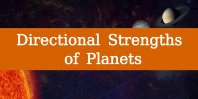 Directional Strengths Planets
