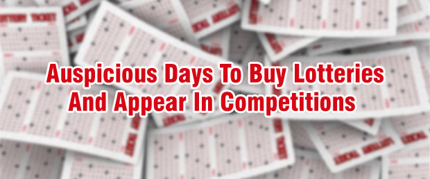 lucky day to buy lotteries