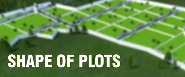 shape of plots according to vastu