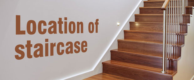 staircase according to Vastu