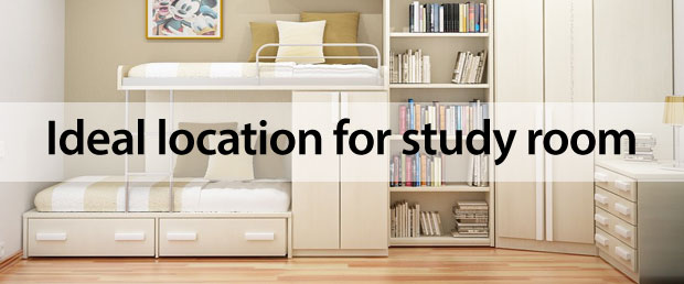 location for study room