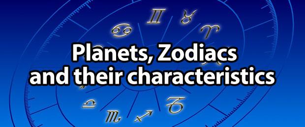 Planets, Zodiacs