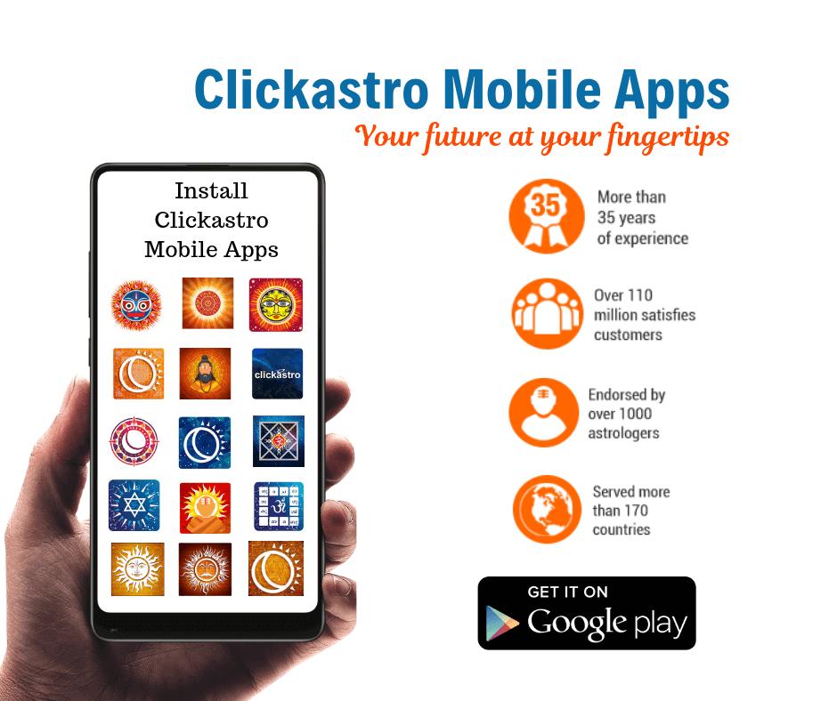 clickastro mobile apps