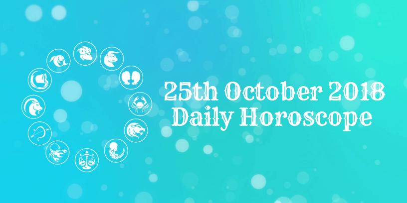 25th October daily Horoscope