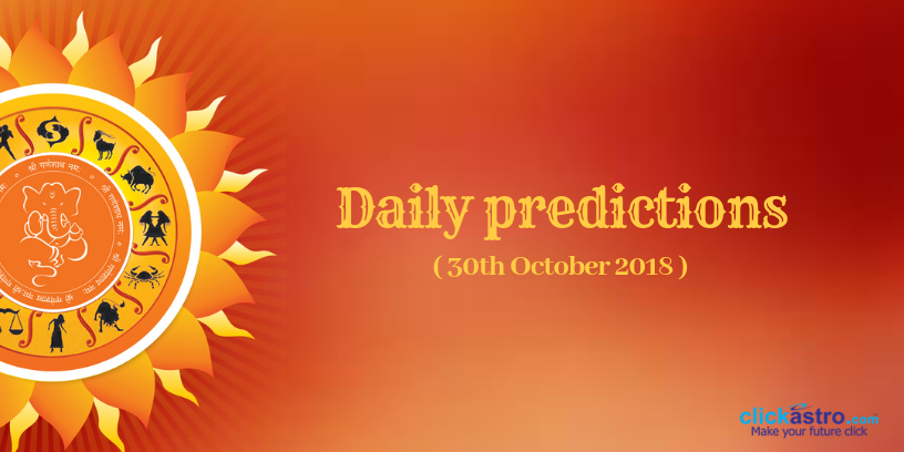 daily predictions October 30th 2018