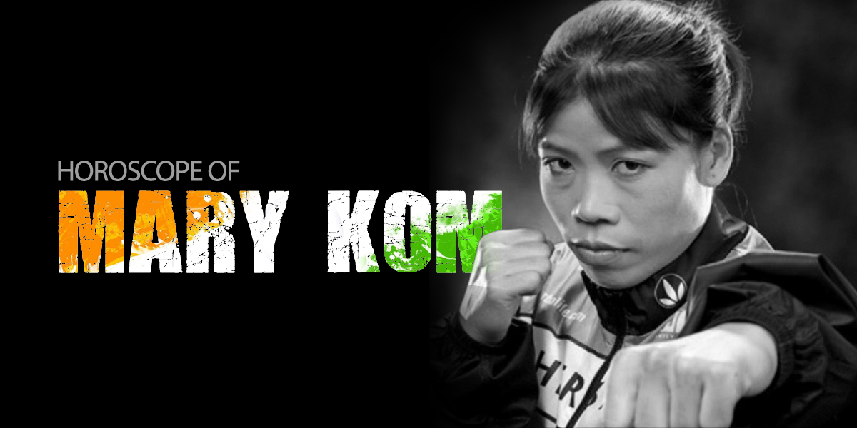 horoscope of mary kom