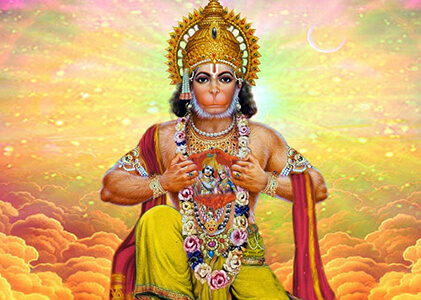 lord hanuman chanting mantra
