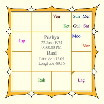 Vijay Rasi Chart